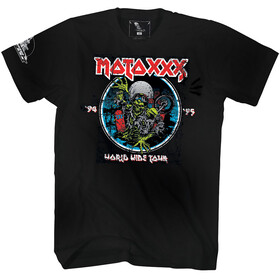 O'Neal Moto XXX T-Shirt World Tour Heren, black